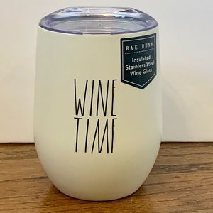 Rae Dunn WINE TIME Insulated Wine Tumbler